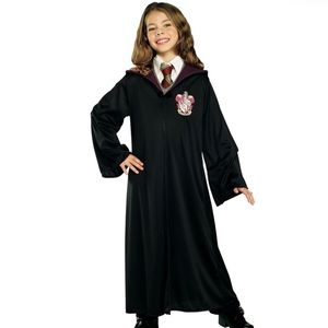 Other - Harry Potter | Gryffindor black robe size medium